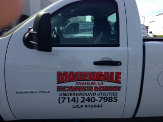 Truck Lettering for Commercial Fleets in Orange County