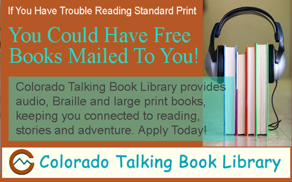 You Could Have Audio Books Sent To You For Free!