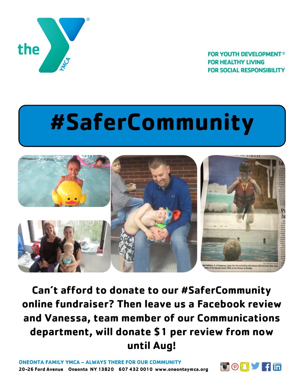#SaferCommunity