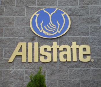 Acrylic Dimensional Logo - Allstate