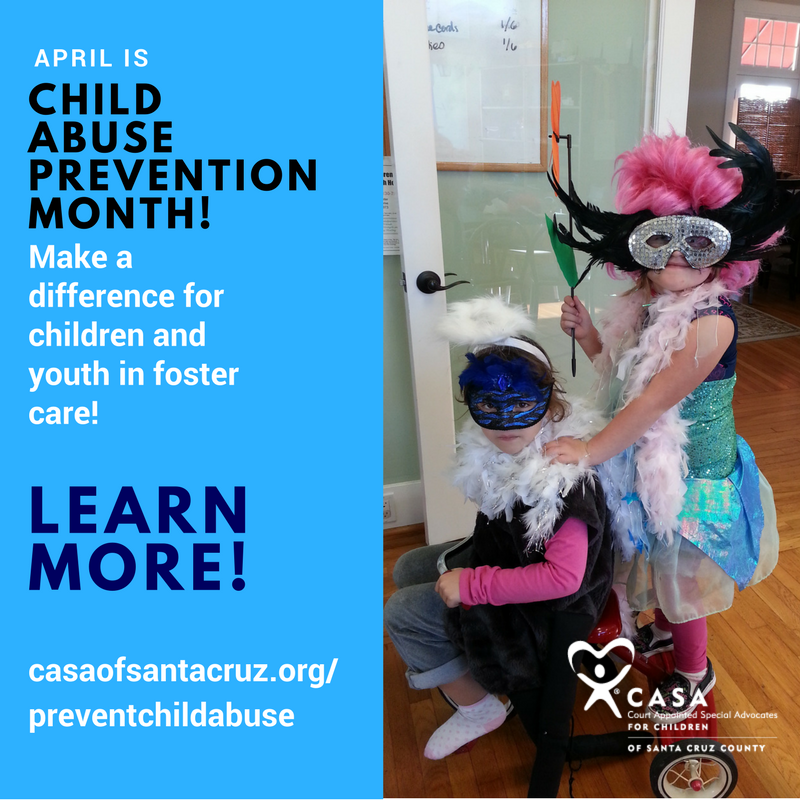 April is Child Abuse Prevention & Awareness Month