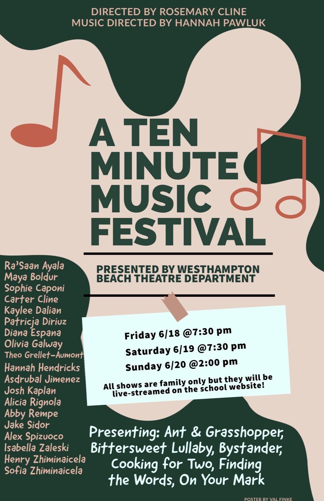 A Ten Minute Music Festival
