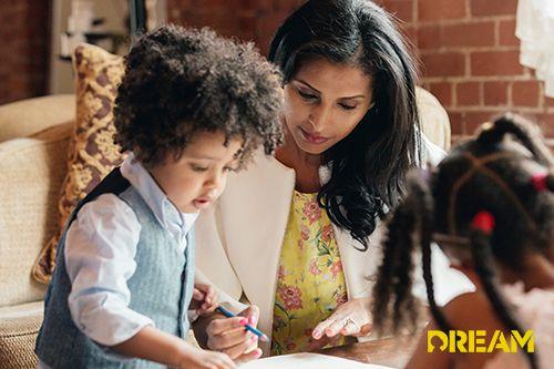 Parents improving child's grades