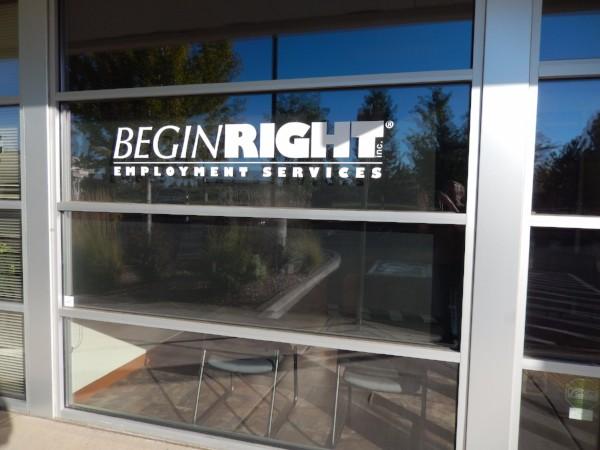 Vinyl Window Lettering in Bend Oregon