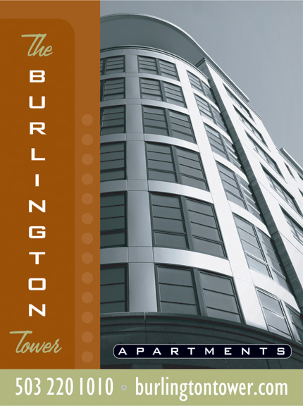 Burlington Tower Site Sign