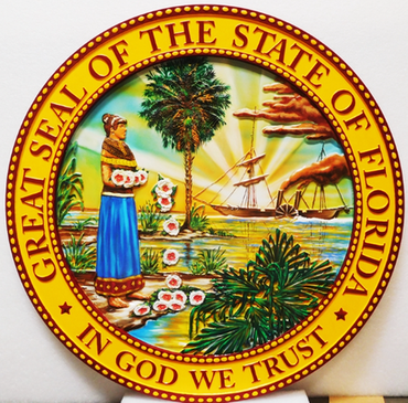 CA1086 - Great Seal of the State of Florida