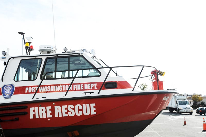 Fire Rescue Boat Up Close