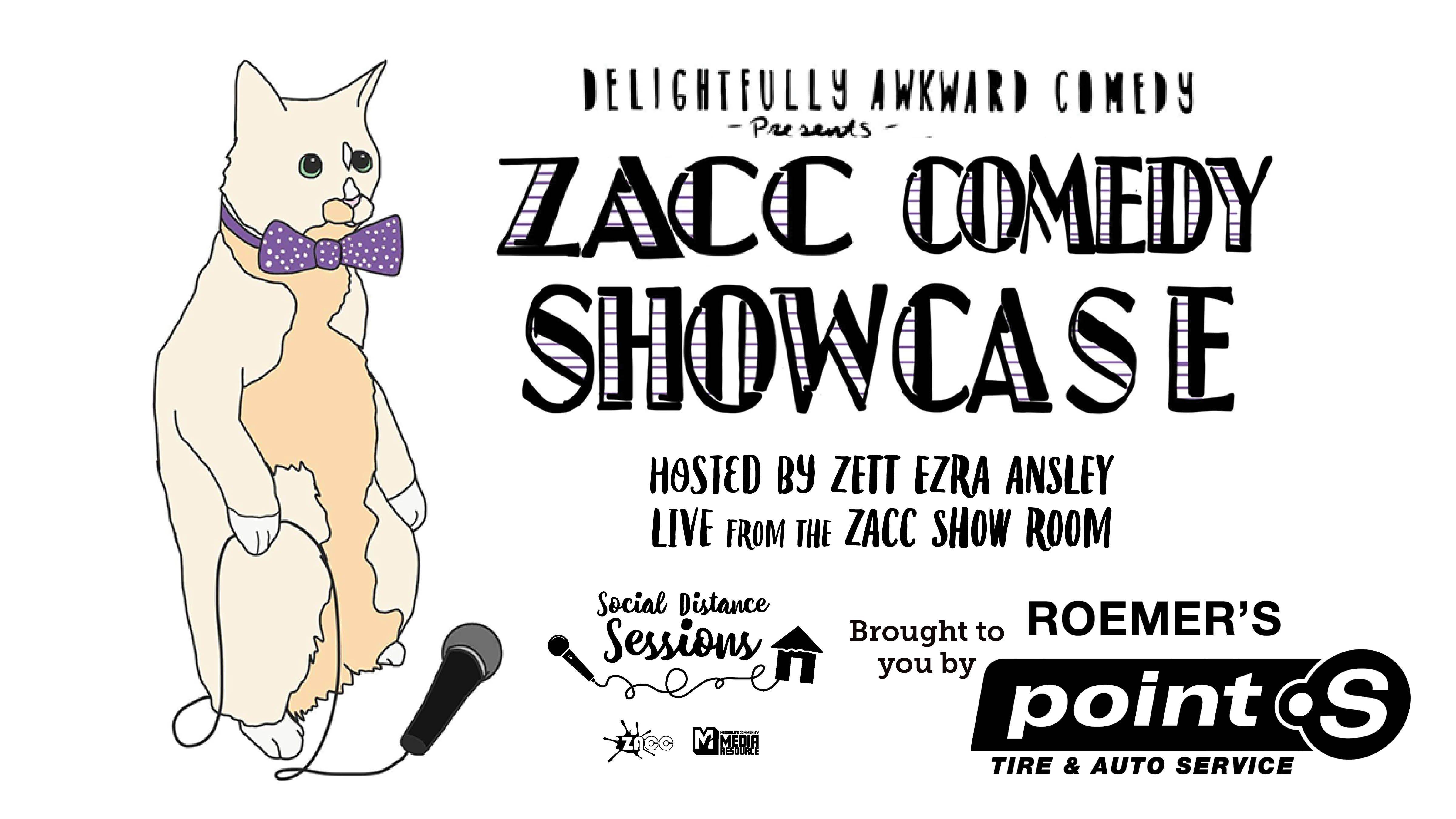 Social Distance Sessions: ZACC Comedy Showcase