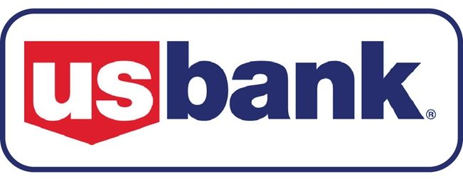 VP-1180 - Carved Wall Plaque of the Logo of US Bank, Artist Painted