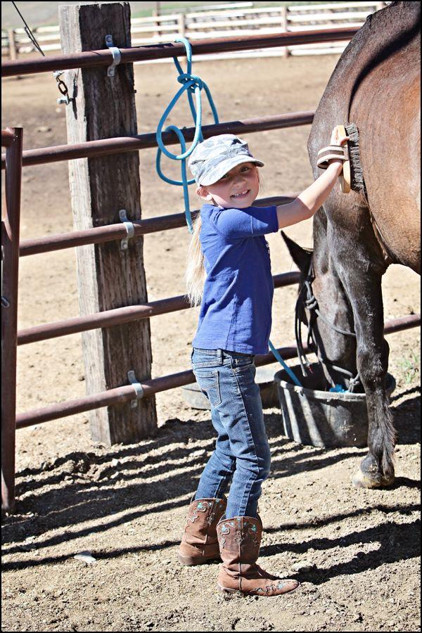 Ranch Life begins at Horse!