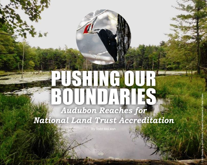 Pushing our Boundaries Audubon Society of Rhode Island Reaches for National Land Trust Accreditation Conservation New England