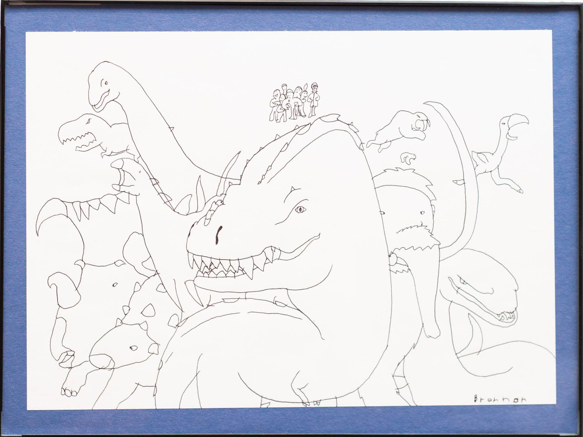"""Brennan Nielson - """"Dino King"""""""