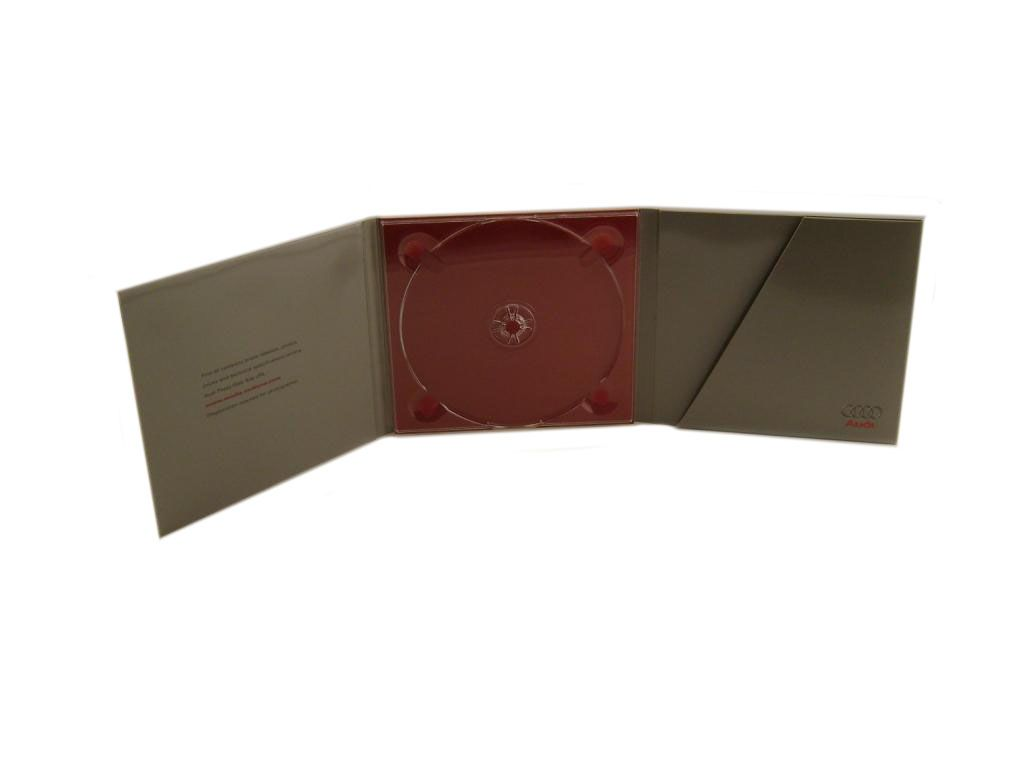Tri Fold CD Packaging With Emboss