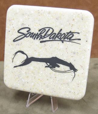 Sioux Horse Effigy Stone Coaster
