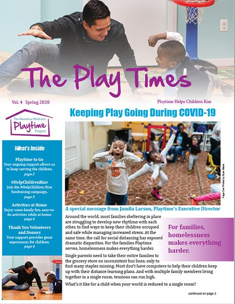 The Play Times Spring Issue Now Online