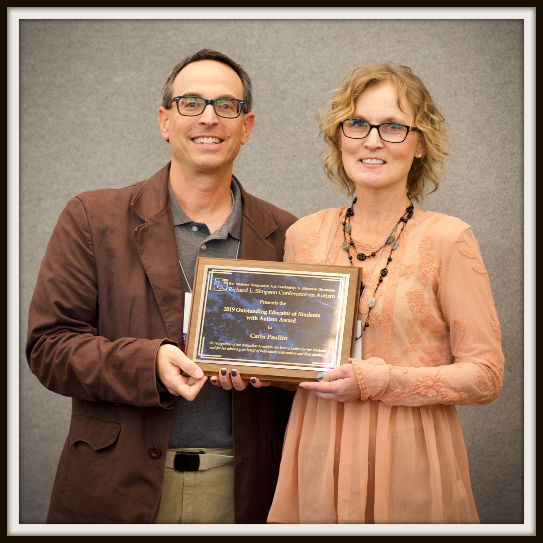 Outstanding Educator of Students with Autism Award