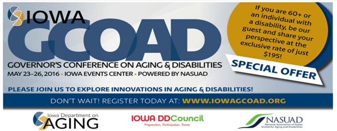 Governor's conference on Aging and Disability