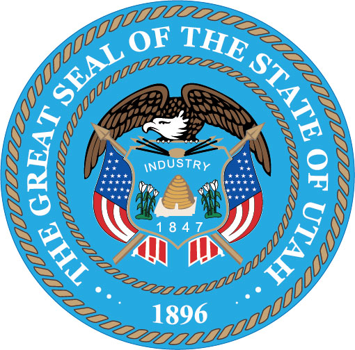 W32490 - Great Seal of Utah Wall Plaque