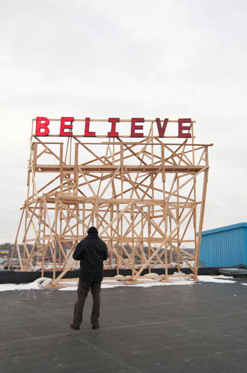 Jason Manleym, Suspending Belief (2012)