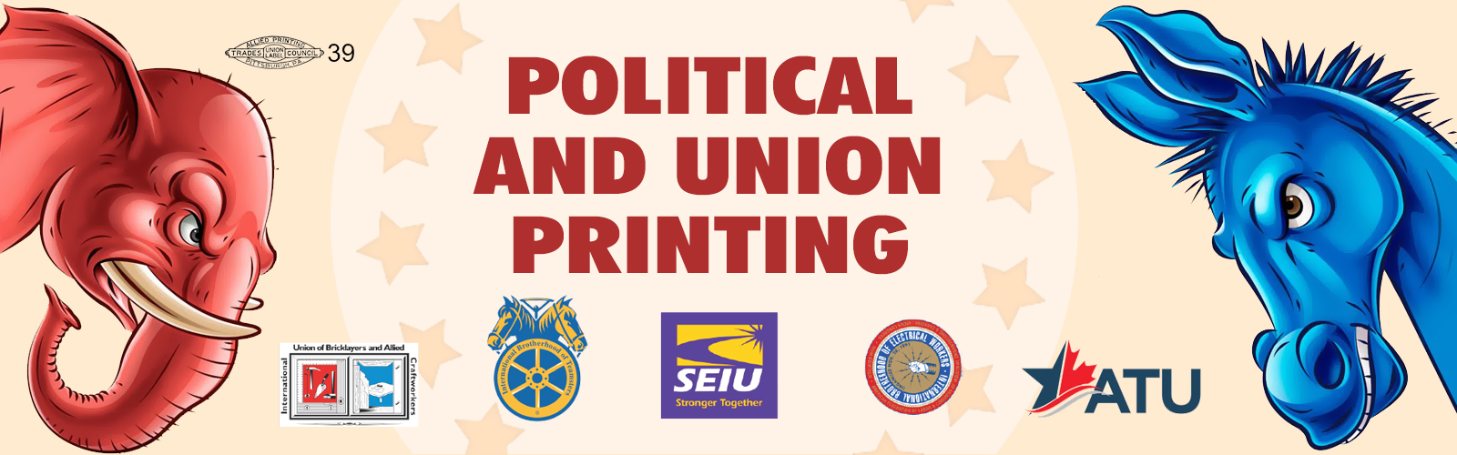 Political sign printing custom political signs campaign signs focus on running for office and we will focus on running your printing the print and copy center can create the exact vision your campaign needs colourmoves