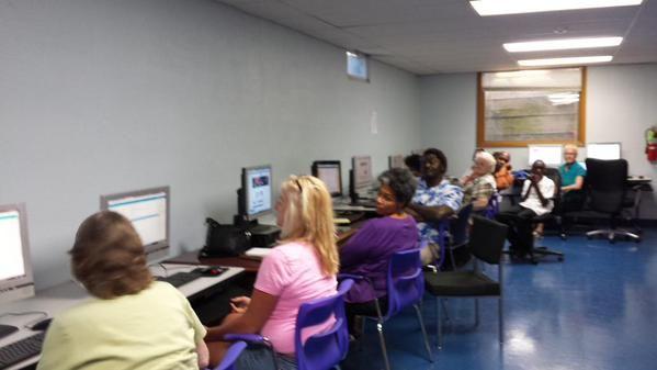 Twitter Class at Union Baptist Church