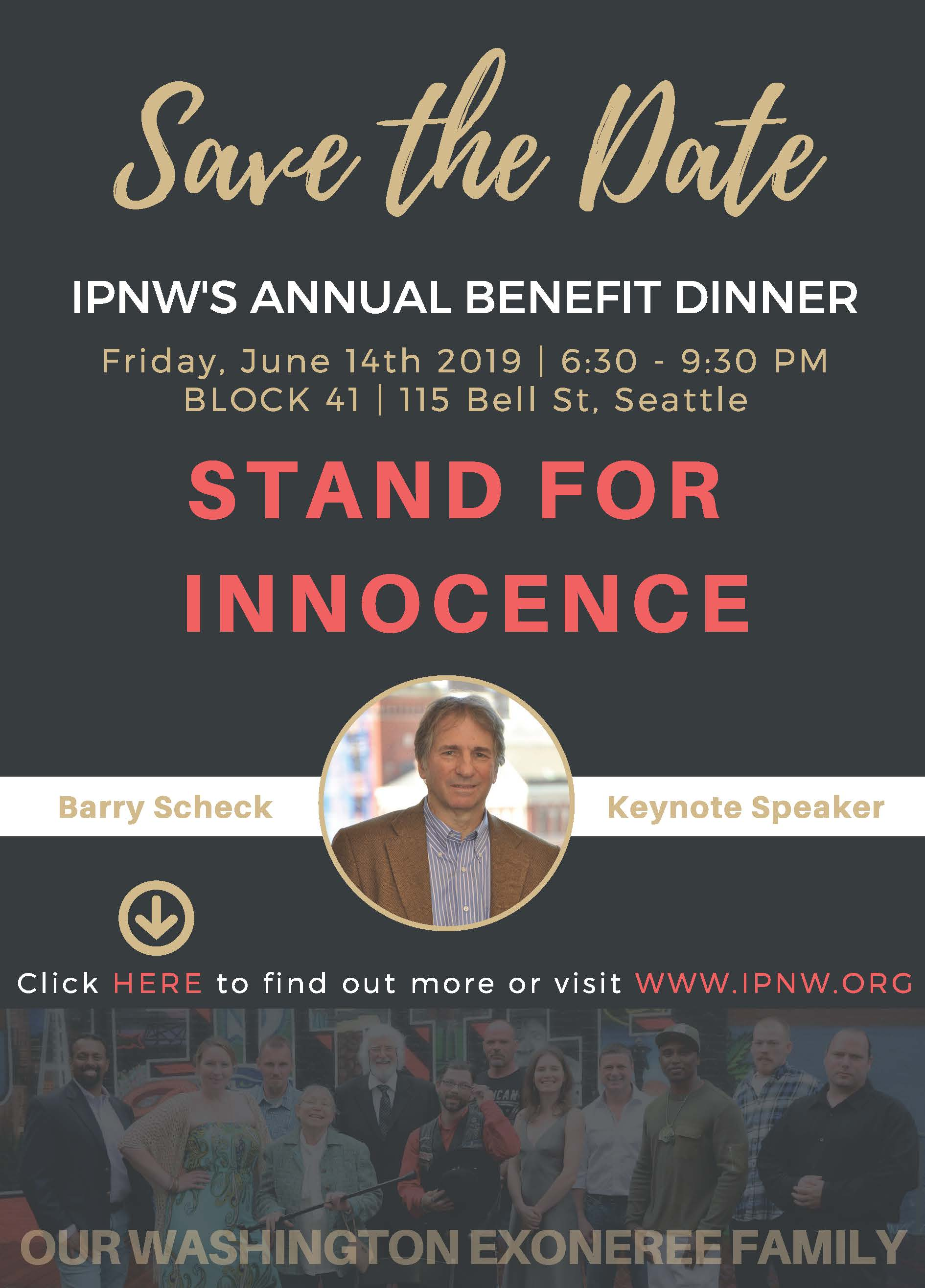 STAND FOR INNOCENCE 2019
