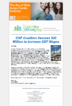 7.5.17 - DSP Coalition Secures $20 Million to Increase DSP Wages