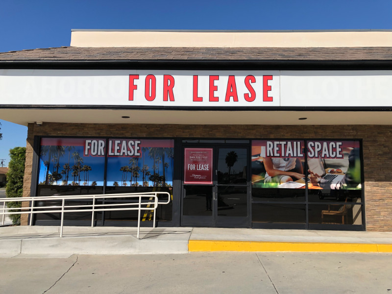 Window Graphics for Commercial Property Management Companies Anaheim CA