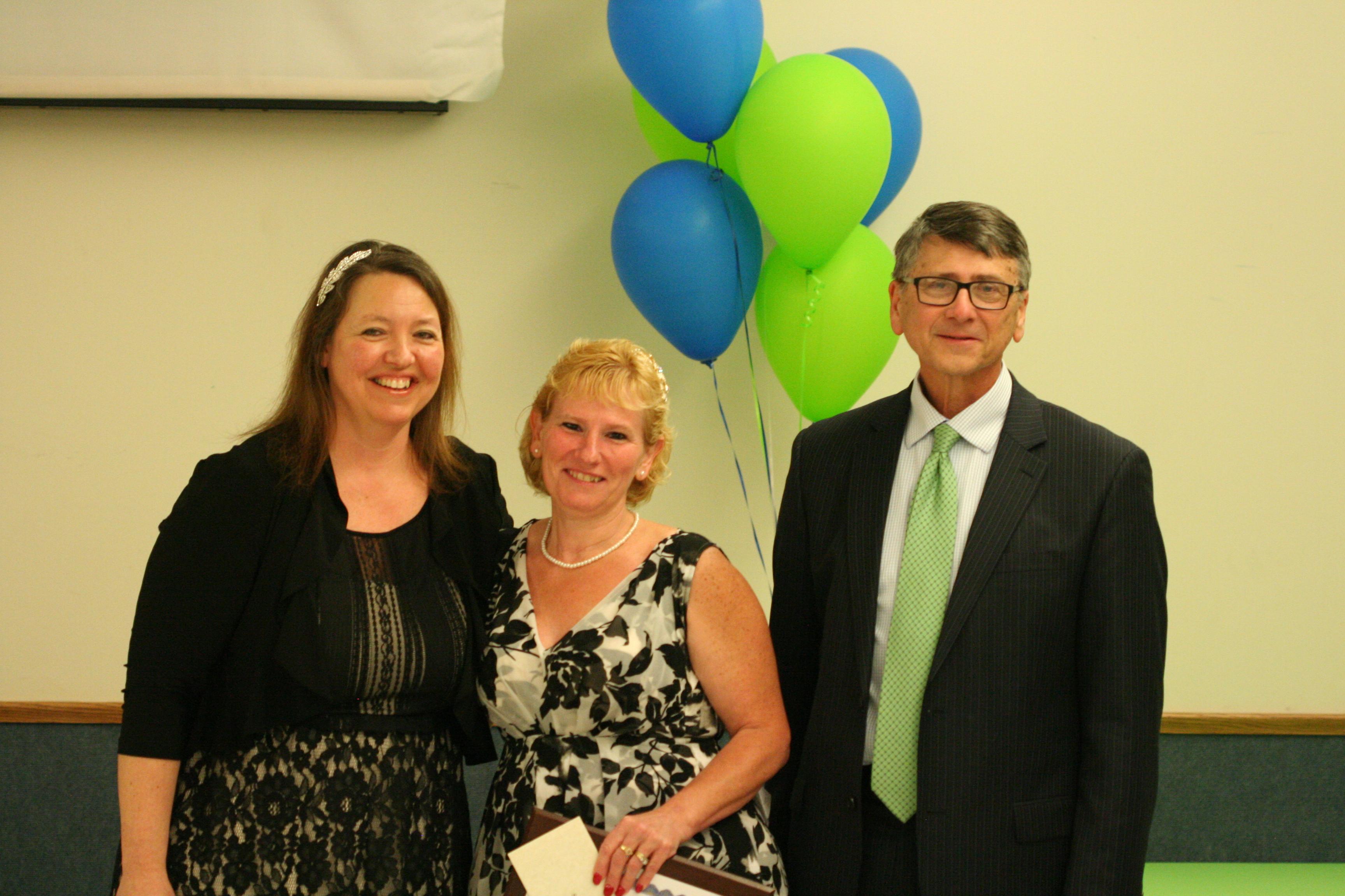 Sally Cory, Employee of the Year Award Recipient