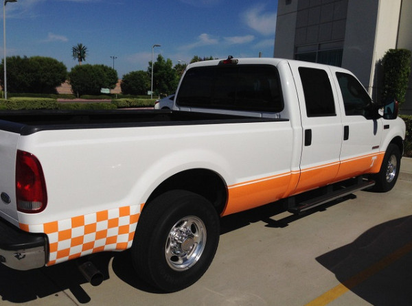 Vinyl Truck Striping Orange County CA