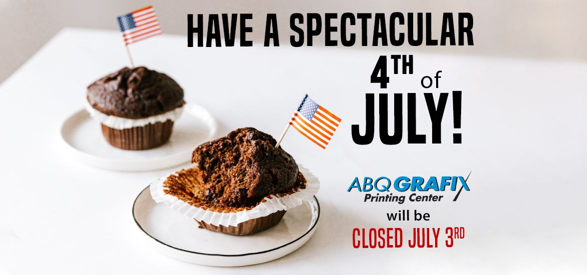 Closed July 3rd