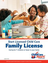 Start Licensed Child Care Family License