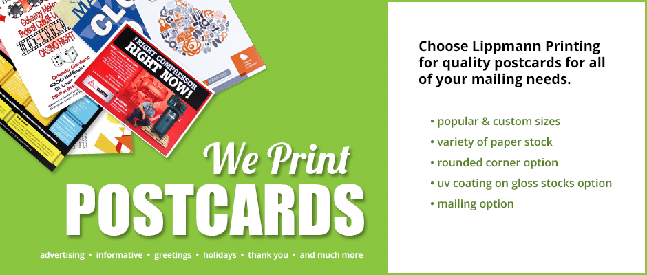 We Print Postcards