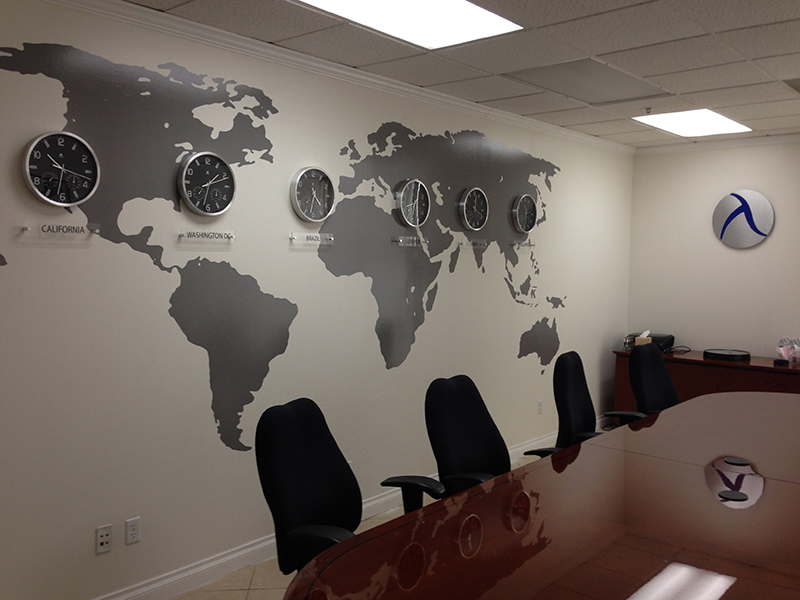 wall pictures for office. vinyl wall map pictures for office t