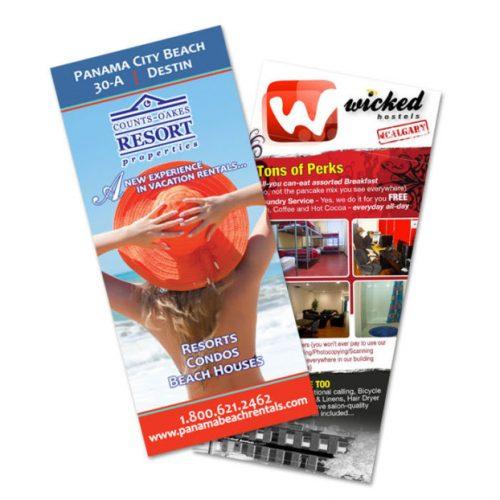 Color Brochures - 4 x 9