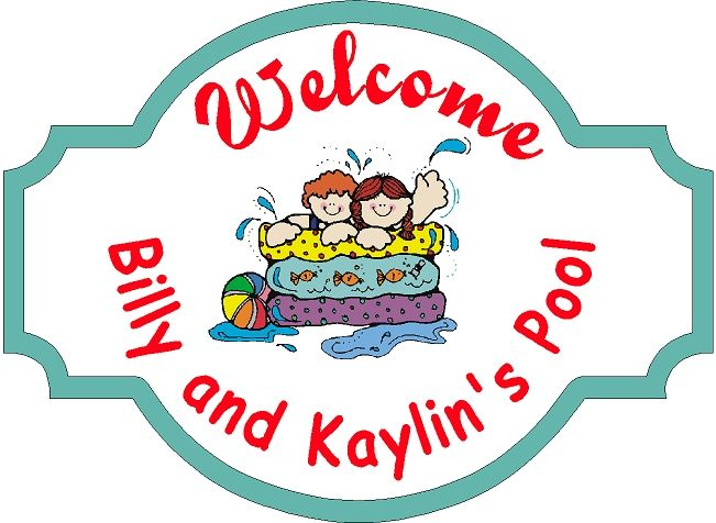GB16200- Design of an HDU Welcome Sign for a Children's Pool