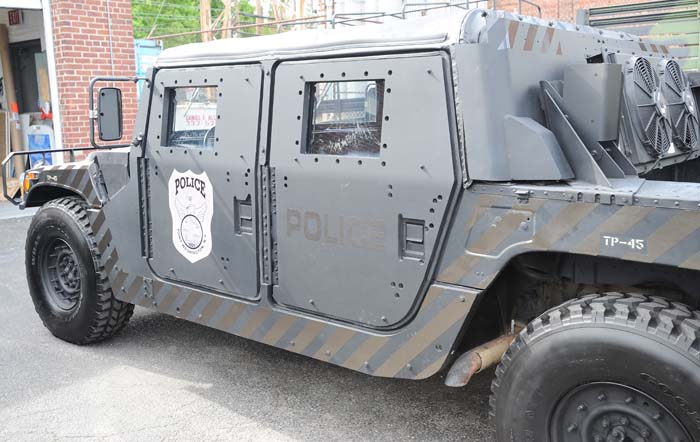 Police Special Ops Vehicle