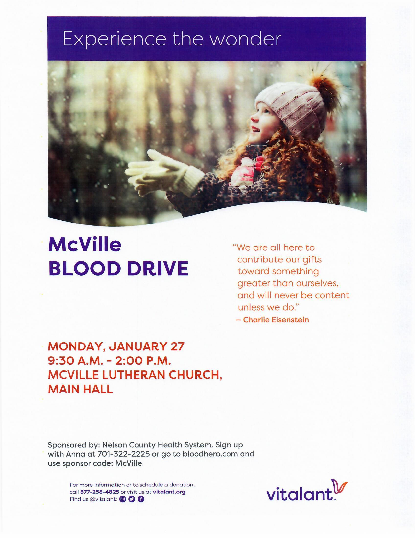 NCHS Blood Drive