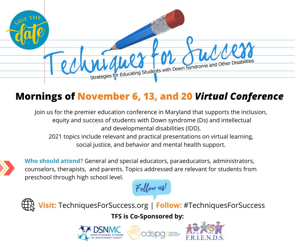 Techniques for Success Online Conference