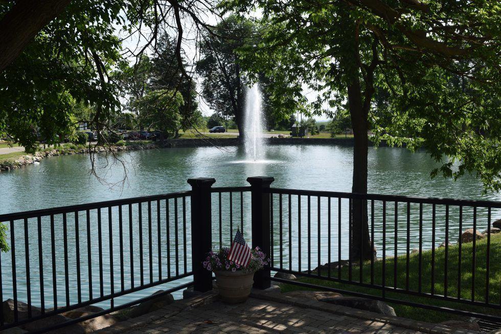 11. Lewis B. Gunckel Memorial Fountain