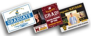 Grad Appreciation Signs
