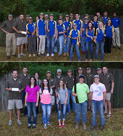 Arkansas Chapter Sponsors Two High School Trap Teams