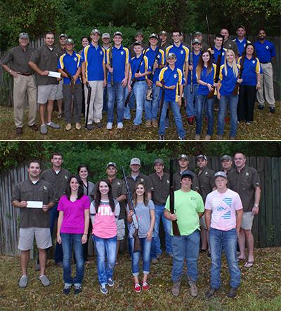 Arkansas Chapter Sponsors Two High School Trap Teams