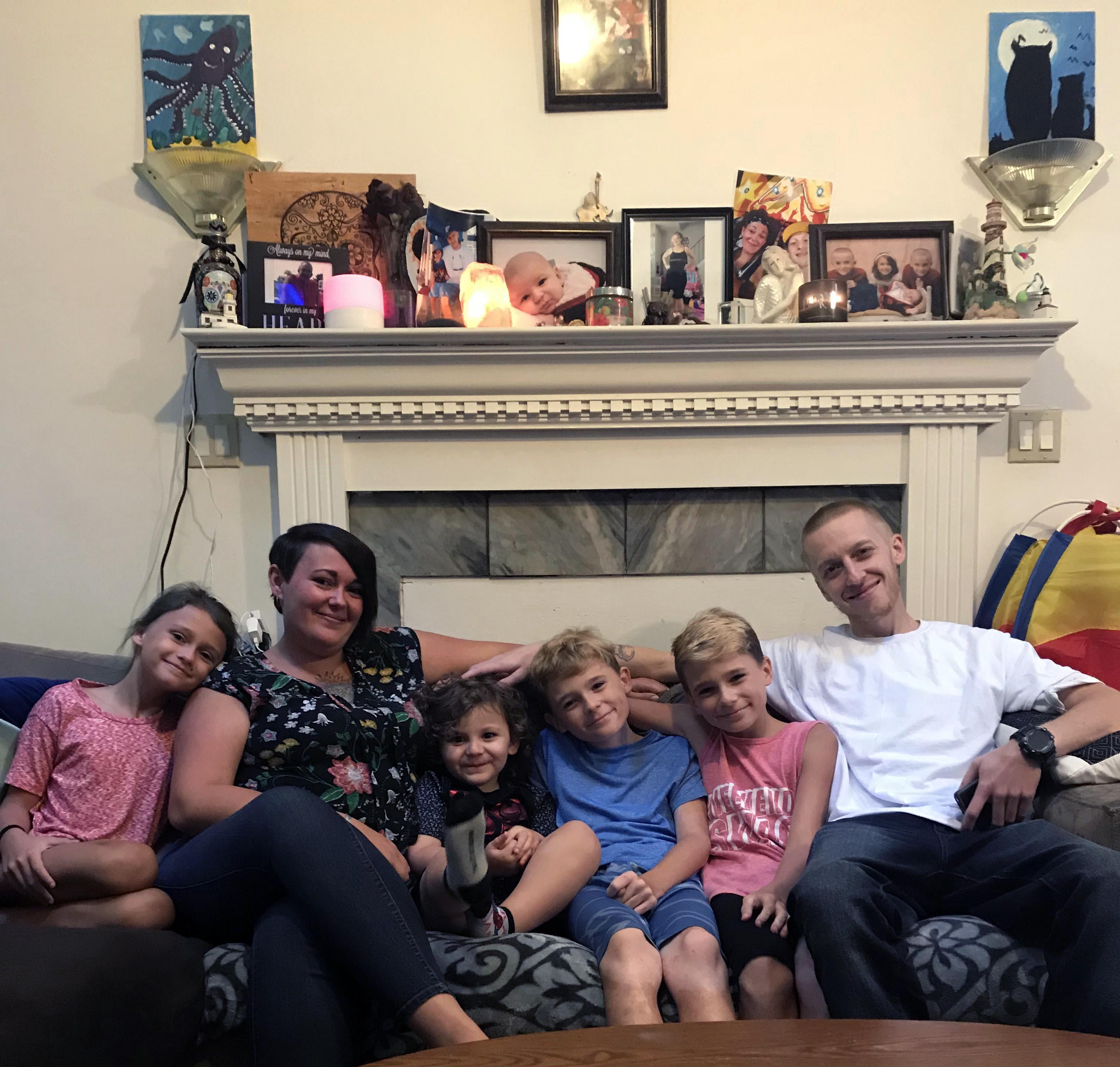 Widowed Mom Fulfills Dream of Homeownership with Habitat