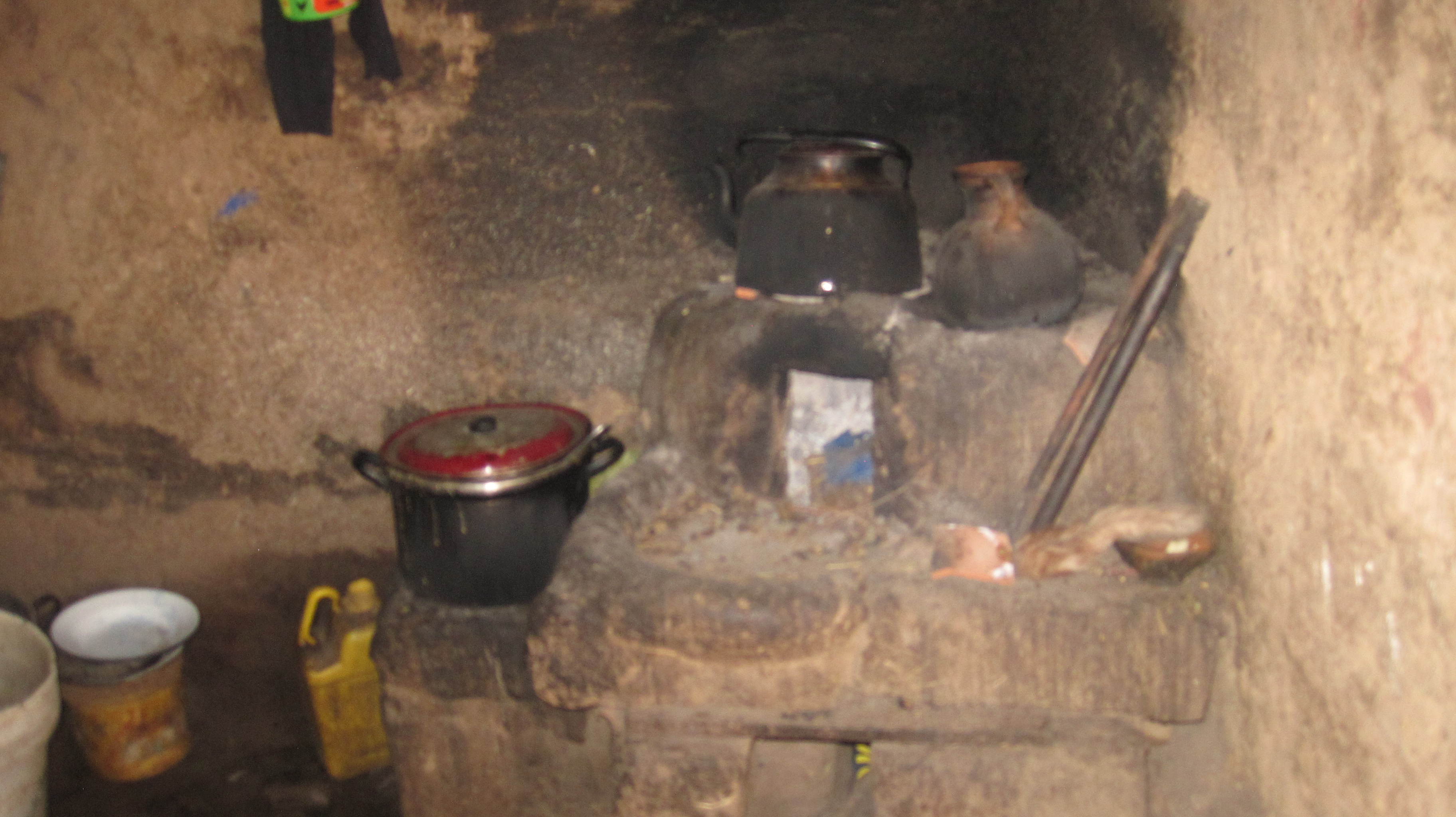 "View of a""Kitchen"" of many families in Pomacanchi (Peru)"