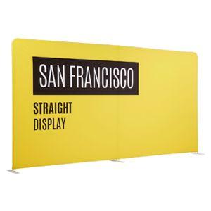 San Francisco  'Stretch' Fabric Straight Display