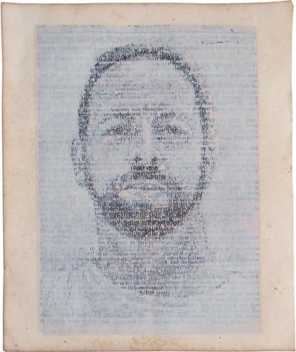 Palimpsest Self Portrait