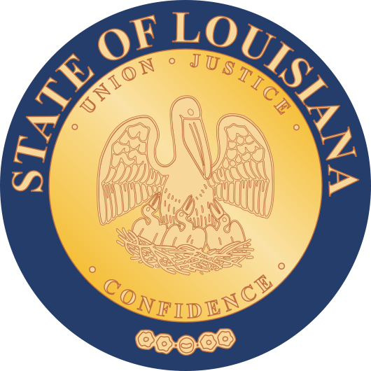 W32225-  Seal of Louisiana Wall Plaque