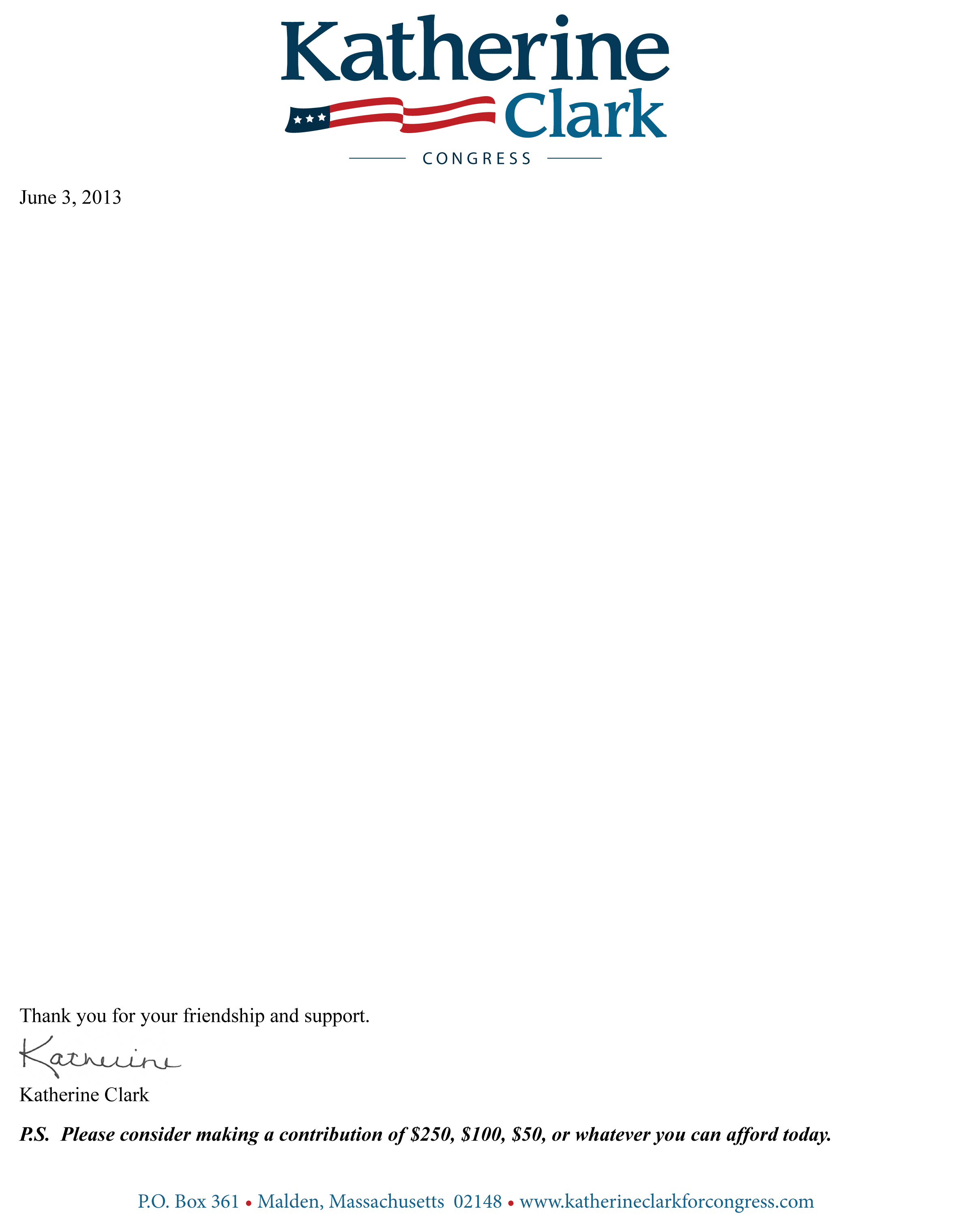 Mailing 2 Letter