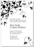 Flourish wedding invitation | Kwik Kopy Design and Print Centre Halifax